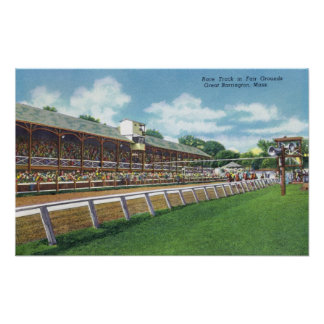 Fair Grounds Race Track View Posters