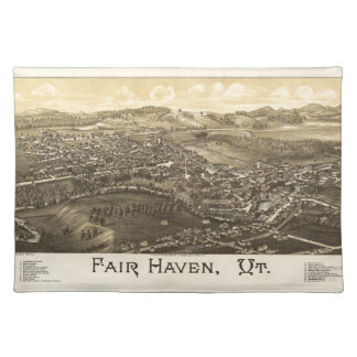 Fair Haven Vermont (1886) Place Mats