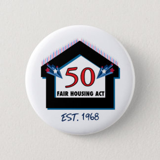 Fair Housing 50 (candles) - Button