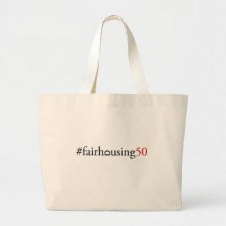 Fair Housing 50 (hashtag) - Tote bag