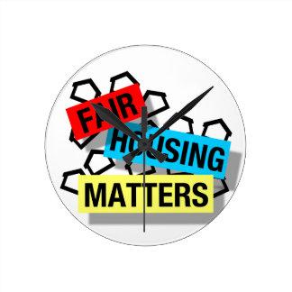 Fair Housing Matters - Clock