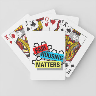 Fair Housing Matters - Playing Cards