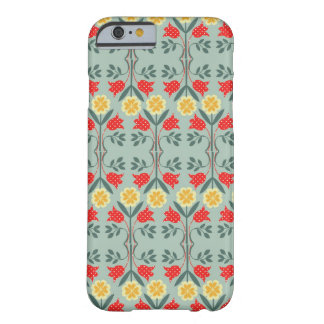 Fair isle fairisle floral rustic chic cute pattern barely there iPhone 6 case
