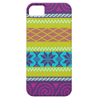 Fair Isle Stripe in Metro Case For The iPhone 5