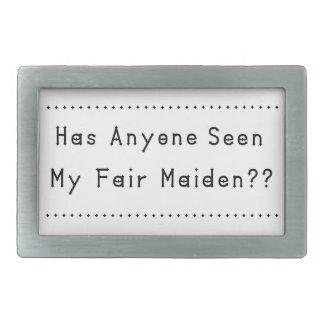Fair Maiden Belt Buckles