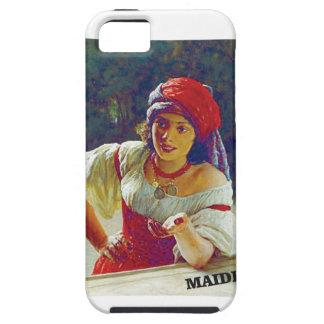 fair maiden leans iPhone 5 cover