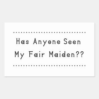 Fair Maiden Sticker