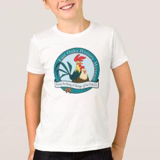 Fair Oaks History Museum Cartoon Roosters t-shirt
