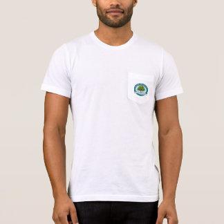 Fair Oaks History Museum Teal Logo Pocket t-shirt
