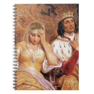 fair queen and king notebook