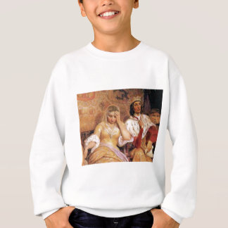 fair queen and king sweatshirt