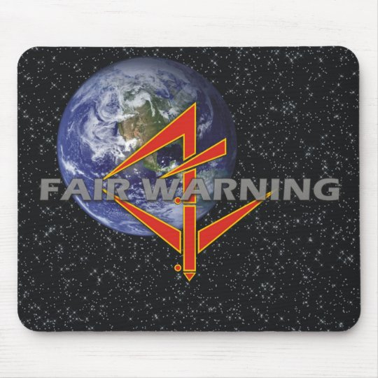 Fair Warning Mousepad