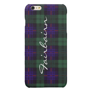 Fairbairn clan Plaid Scottish kilt tartan