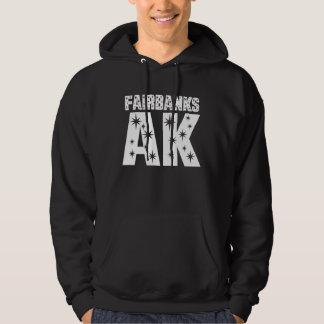 Fairbanks AK Alaska Long Sleeve Gift Hoodie