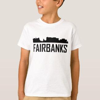 Fairbanks Alaska City Skyline T-Shirt