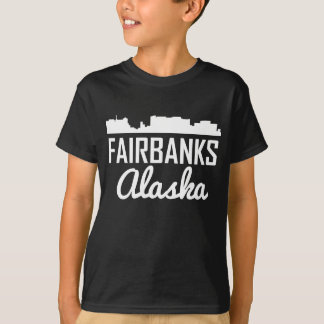Fairbanks Alaska Skyline T-Shirt