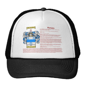 Fairbanks (meaning) trucker hat