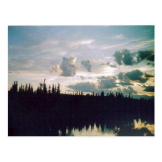 Fairbanks Sky Postcard