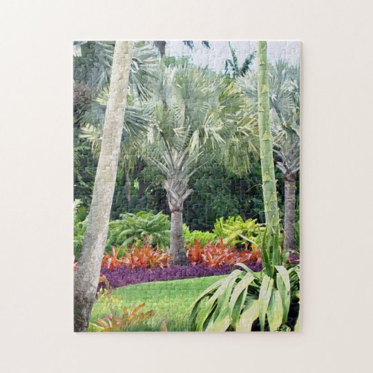 Fairchild Botanic Garden Jigsaw Puzzle