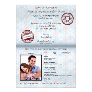Faire-part de mariage (antiéblouissant) II de pass