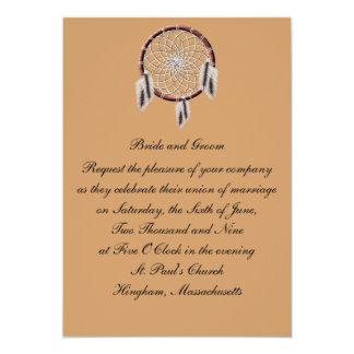 Faire-part de mariage de coutume de KRW Carton D'invitation 12,7 Cm X 17,78 Cm
