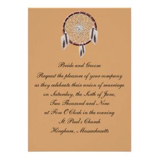 Faire-part de mariage de coutume de KRW Dreamcatch