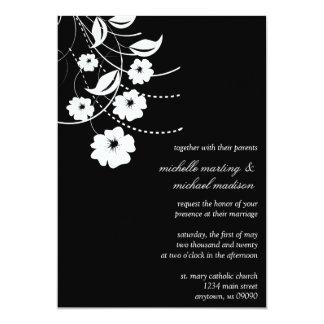Faire-part de mariage floral de Flourish