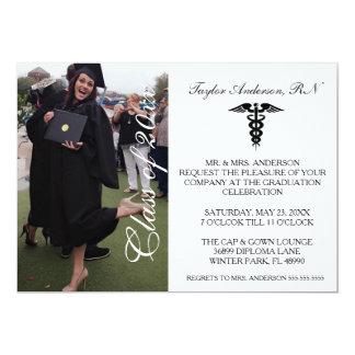 Faire-part médical d'obtention du diplôme d'école