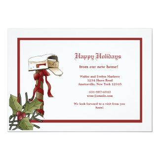 Faire-part mobile de boîte aux lettres de Noël