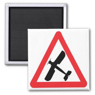 Fairey Swordfish Fridge Magnet. Square Magnet