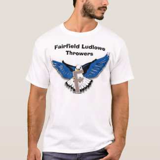 Fairfield Ludlowe Throwers 2 T-Shirt
