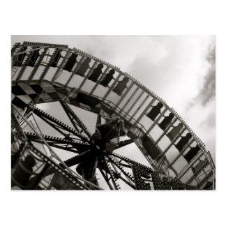 Fairground Ride Postcard