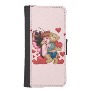 FAIRIE AND BEAR CUTE FUN iPhone 5/5s Wallet Case