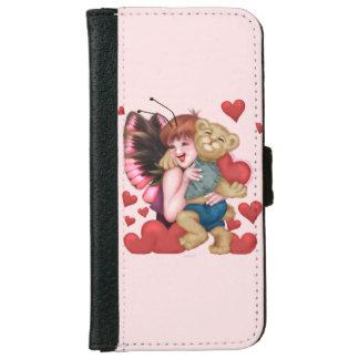 FAIRIE AND BEAR CUTE FUN iPhone 6/6s Wallet Case