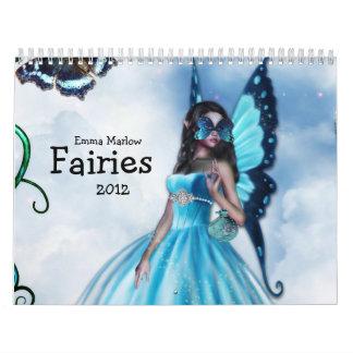 Fairies 2012 Calendar by Emma Marlow