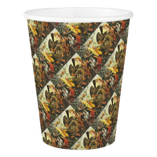 Fairies and Robin's Nest Paper Cup