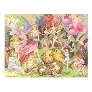 Fairies and Sprites Postcard