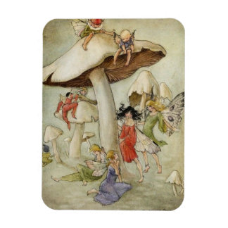 Fairies and Toadstools, Magnet
