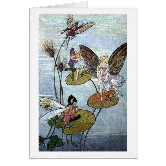Fairies at the Lake, Card