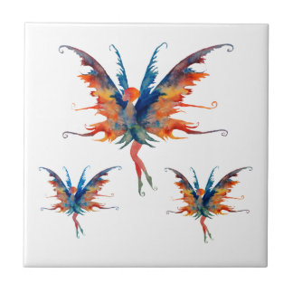 Fairies ceramic Tile