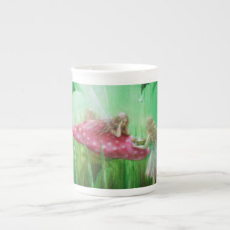 Fairies Collecting Raindrops by Lynne Bellchamber Tea Cup