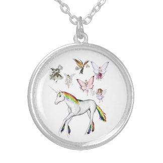 Fairies Color the Unicorn Jewelry