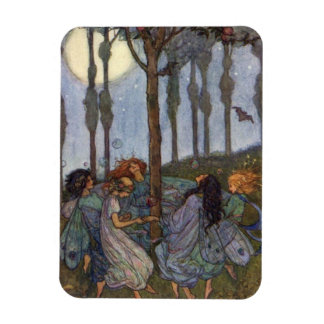 Fairies Dance Around a Tree, Magnet