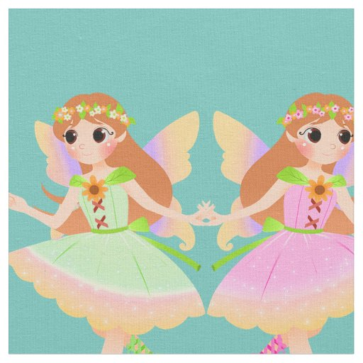 Fairies Fabric