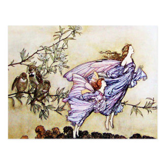 Fairies in the Trees Postcard
