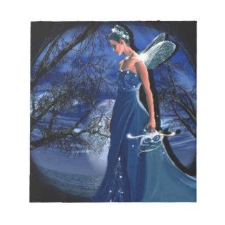 fairies notepad