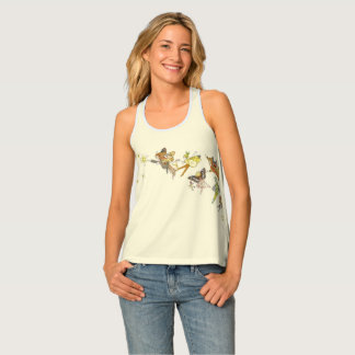 Fairies, pixies and sprites tank top