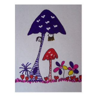 fairies place postcard