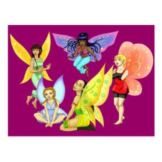 Fairies Postcard