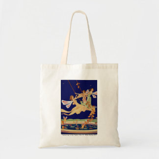 """Fairies Swing"" Canvas Tote Bag"